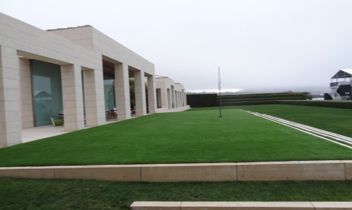 Artificial Grass for Commercial Applications in Orange